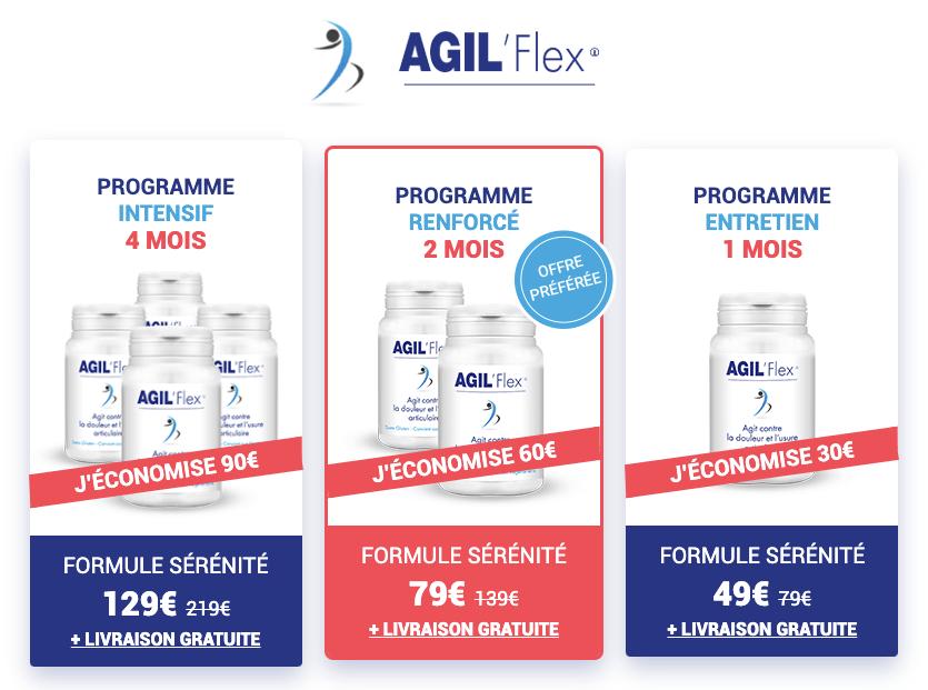 Prix d'Agil'Flex